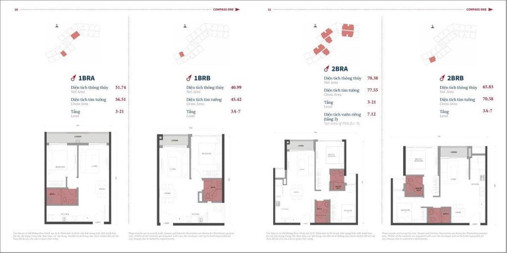 Thiết kế căn hộ Compass One