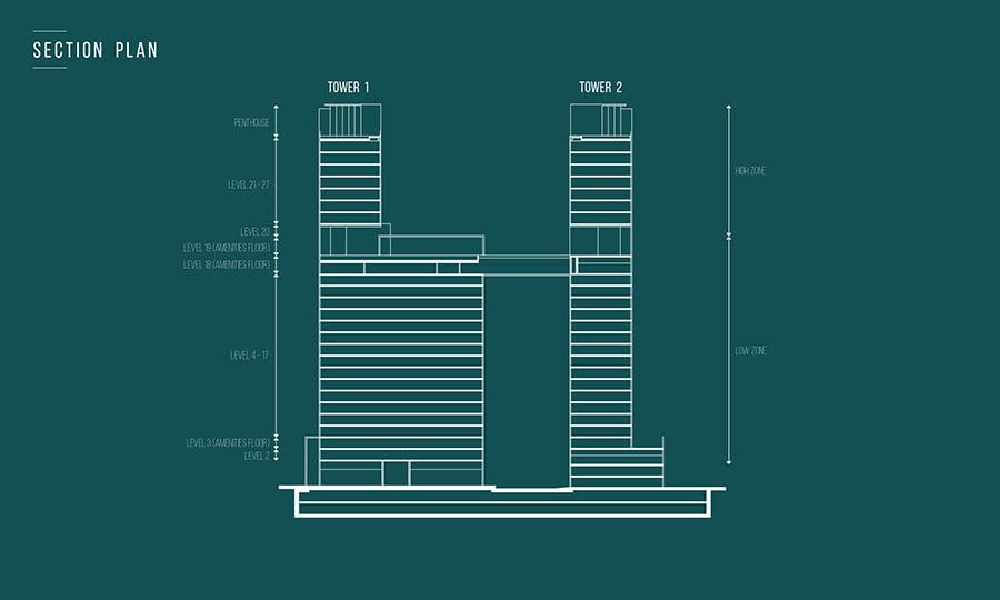 Thiết kế tòa Narra Residences