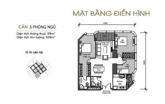 Thiết kế căn hộ Landmark 81