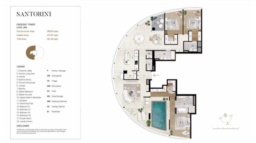 Thiết kế chi tiết căn Penthouse City Garden