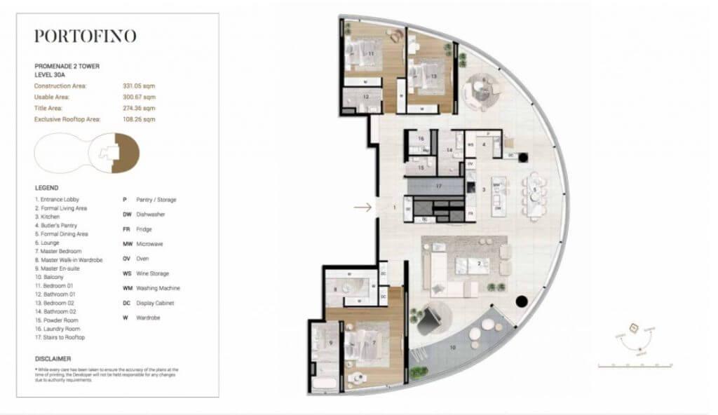 Thiết kế chi tiết căn Penthouse Citygarden Bình Thạnh