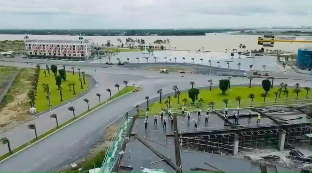 Tiến độ xây dựng khu đô thị Aqua City