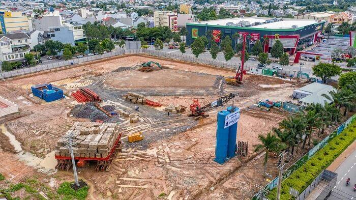 Tiến độ dự án Green Towers Bình Dương