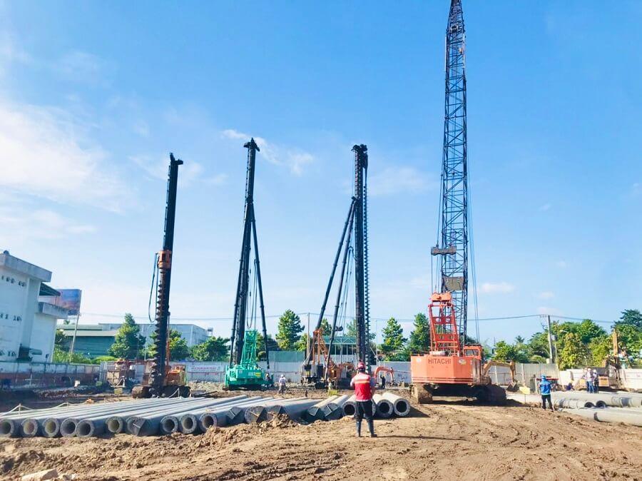 Tiến độ xây dựng mới nhất dự án Rivana Thuận An