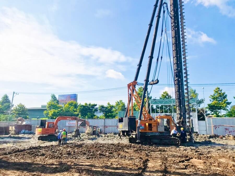 Tiến độ xây dựng căn hộ The Rivana Thuận An