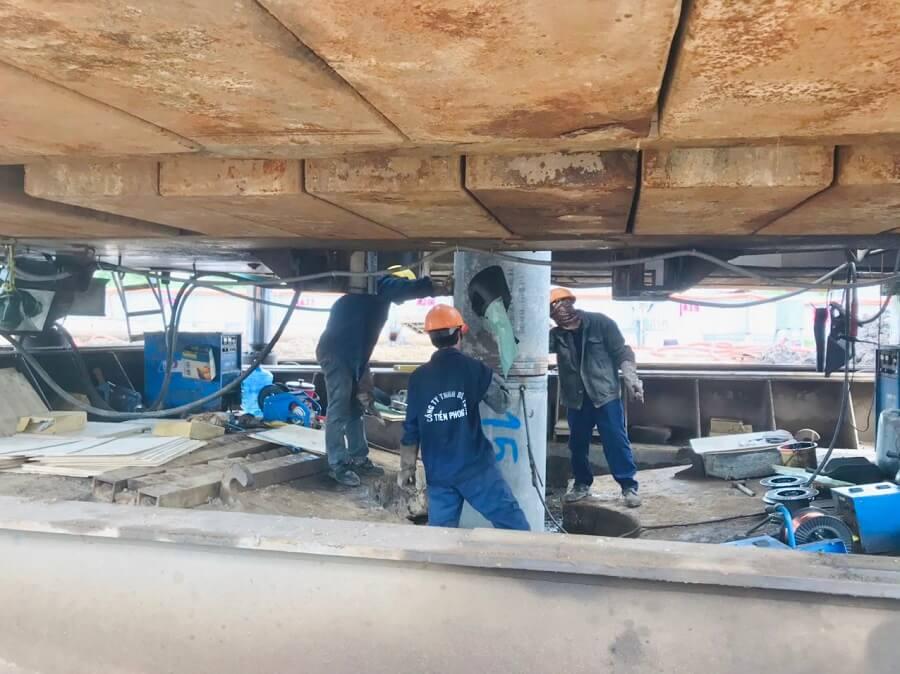 Tiến độ xây dựng dự án The Rivana Thuận An