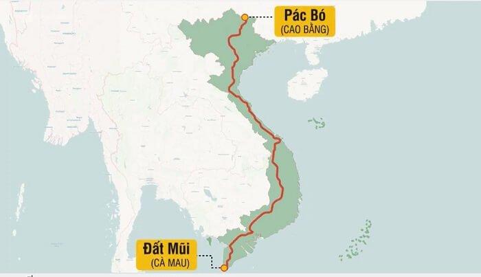 Toàn tuyến đường Hồ Chí Minh Bắc Nam