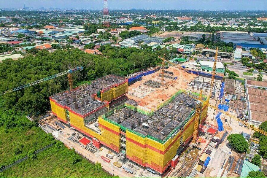 Tiến độ xây dựng Lavita Thuận An đầu tháng 7/2021