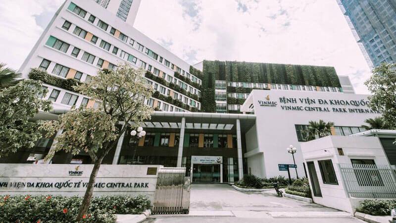 Bệnh viện Quốc tế Vinmec trong Vinhomes Central Park
