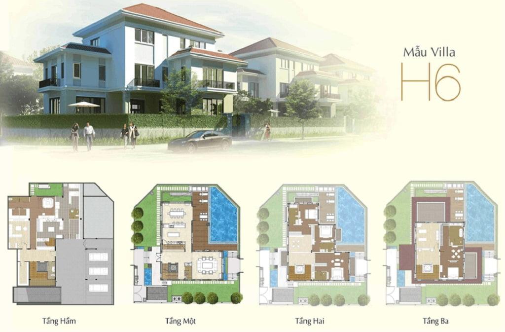 Thiết kế biệt thự Sala Quận 2 - Saroma Villa