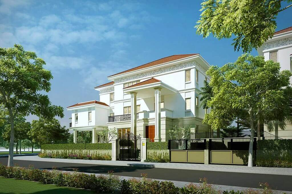 Thiết kế biệt thự Sala Thủ Thiêm - Saroma Villa