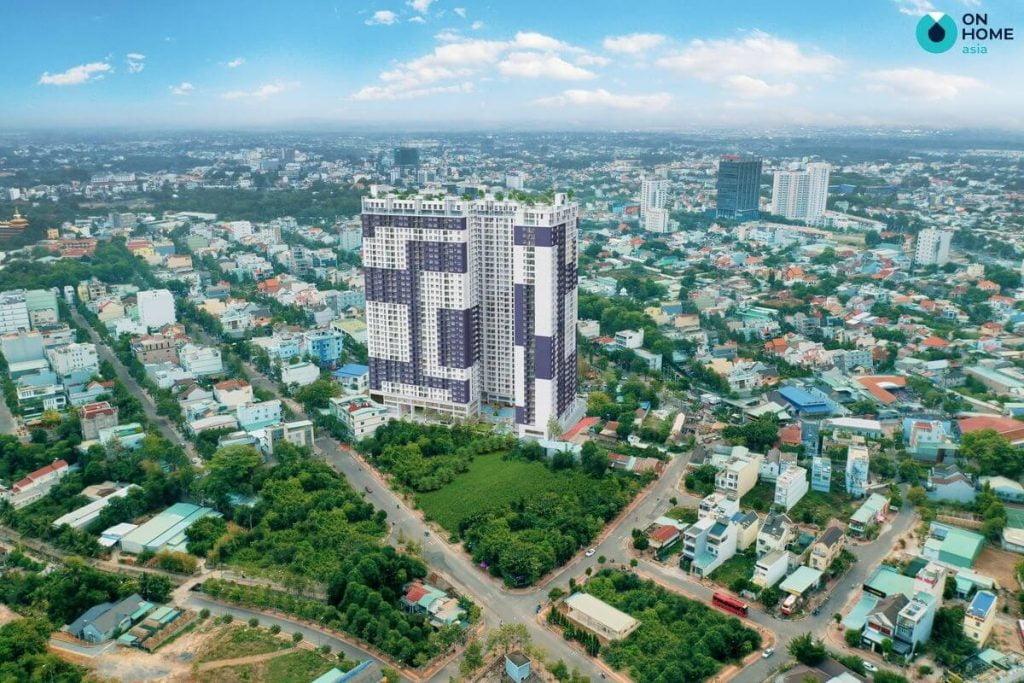 Tổng thể căn hộ C Sky View