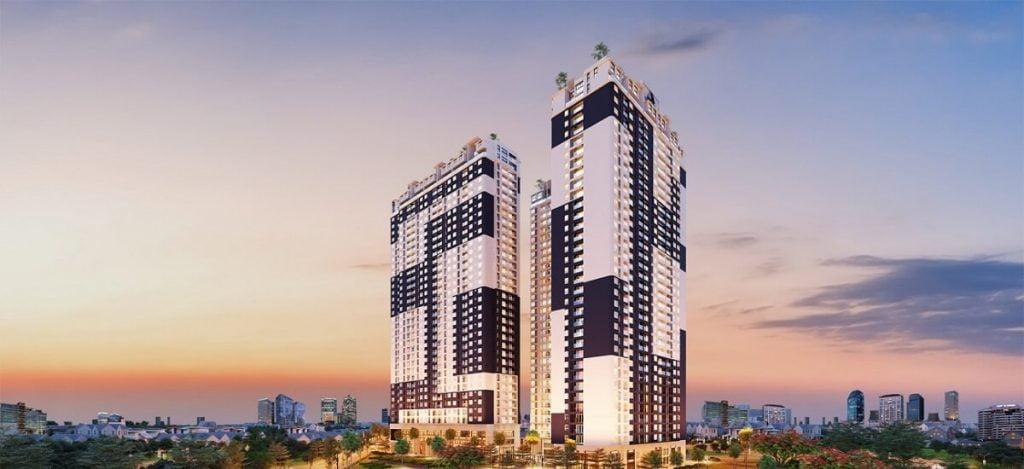 Tổng thể căn hộ C - Sky View