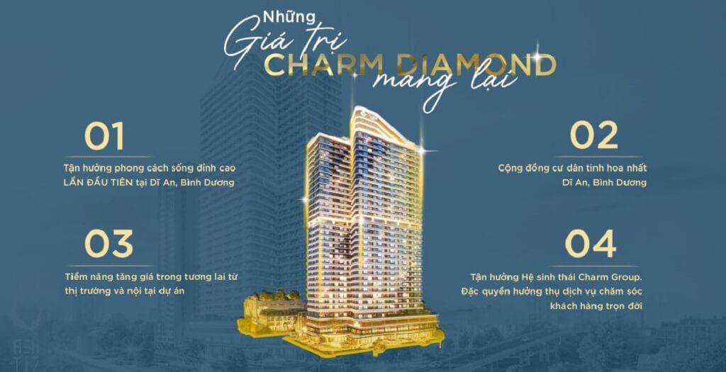 Những giá trị vàng của Charm Diamond mang lại cho cư dân
