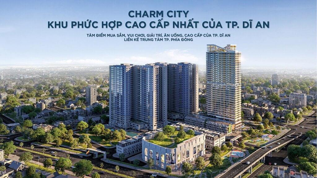 Toàn cảnh dự án Charm City và tòa tháp Diamond cao nhất