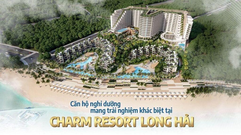 Dự án Resort Long Hải do Charm Group phát triển