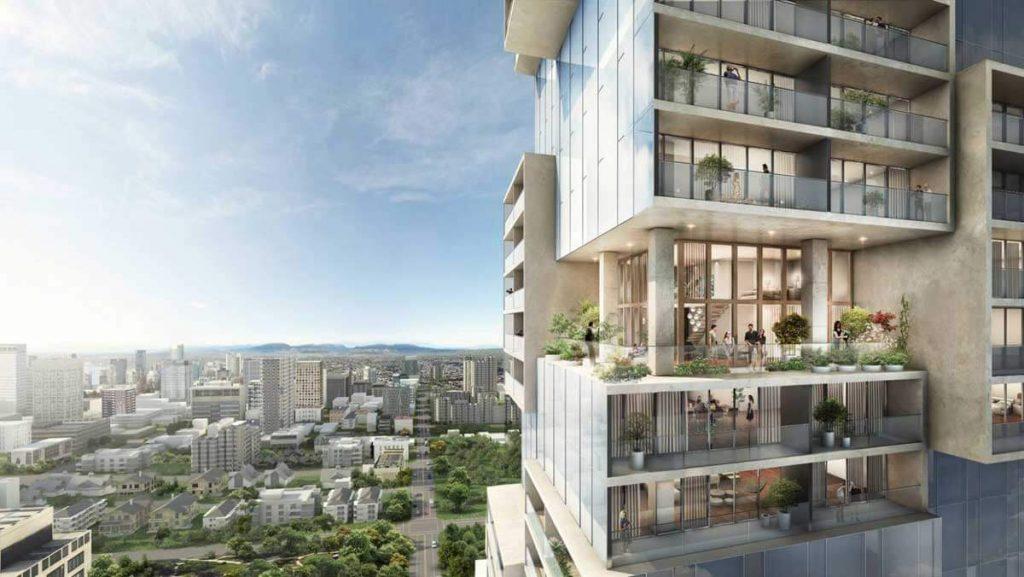 Thiết kế lệch tầng tại Thủ Thiêm Zeit River tạo nên sự khác biệt