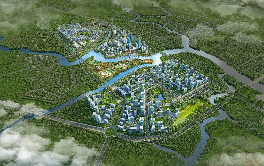 Toàn cảnh khu đô thị Zeitgeist Xi Nhà Bè gần 350 hecta