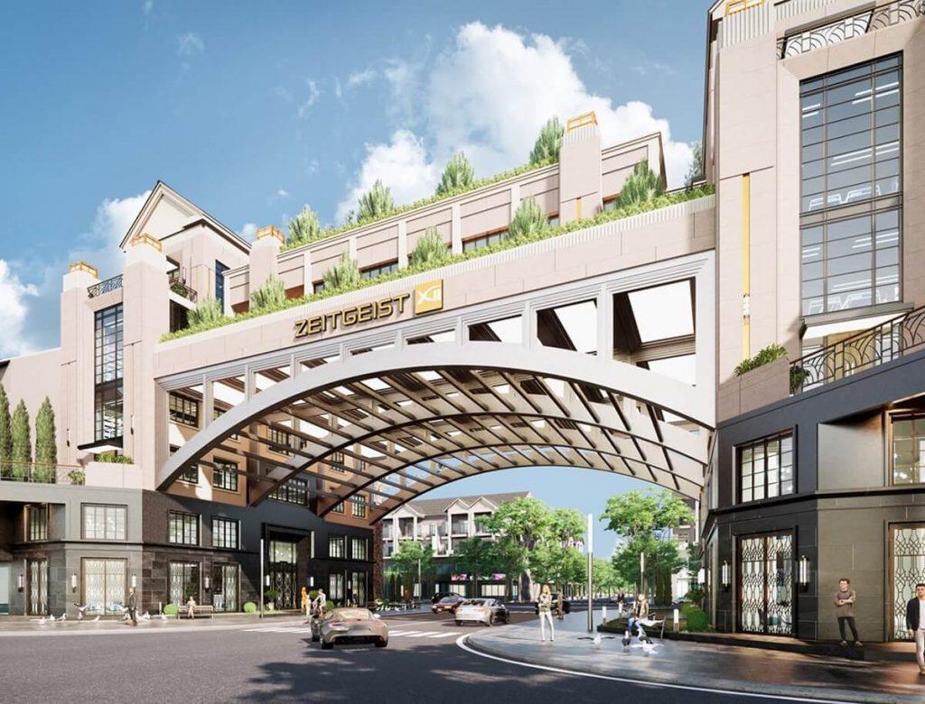 Cổng chào đẳng cấp của Khu đô thị Zeitgeist GS Nhà Bè
