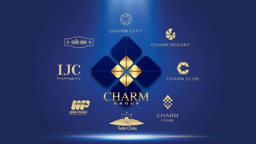 Hệ sinh thái thương hiệu của Charm Group