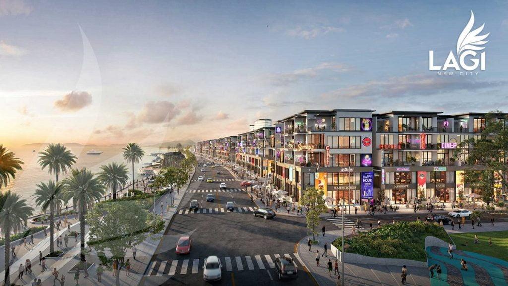 Shophouse Lagi New City có vị trí đắc địa trong dự án