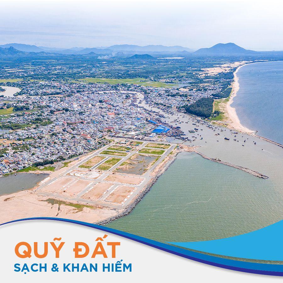 Quỹ đất ven biển như Lagi New City rất khan hiếm