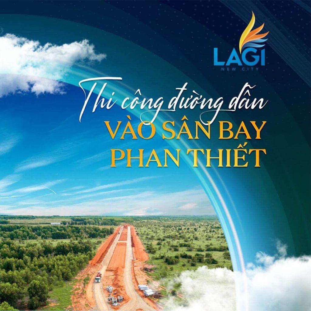Đường vào Sân bay Phan Thiết