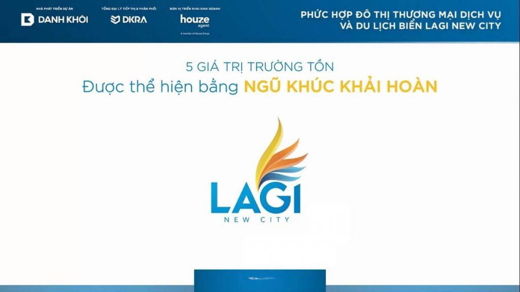 Logo chính thức của dự án Lagi New City