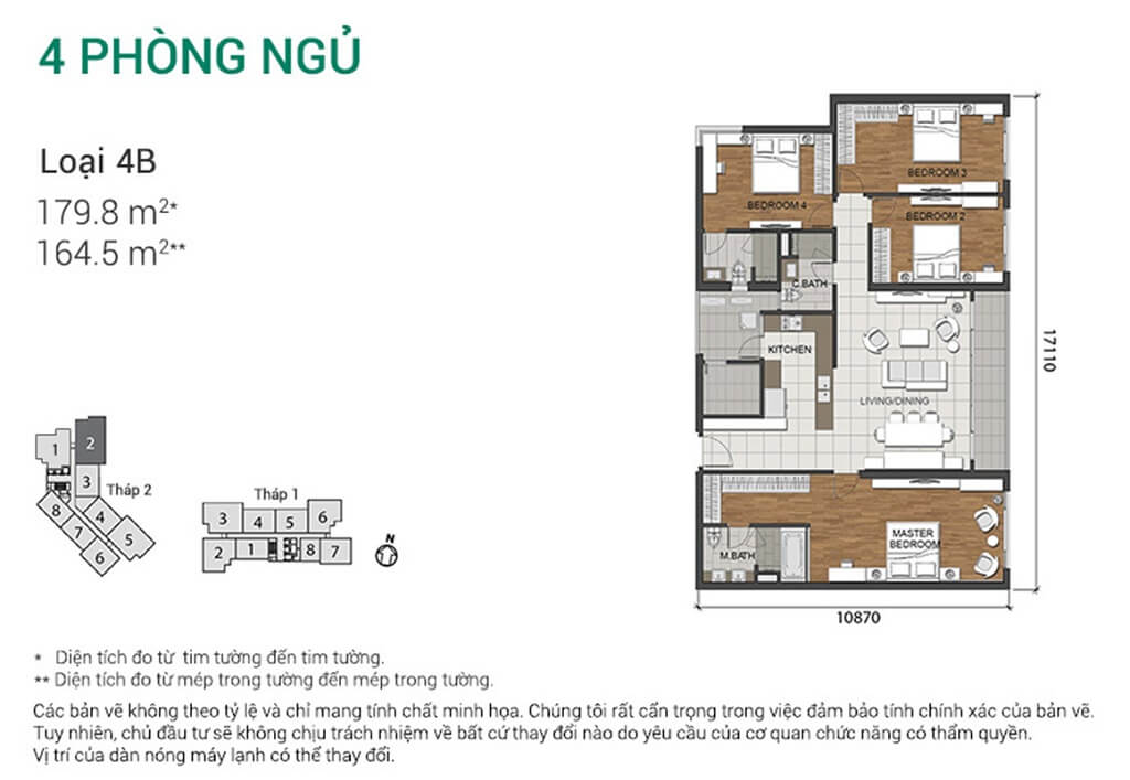 Thiết kế dự án Estella Heights An Phú căn 4 phòng ngủ