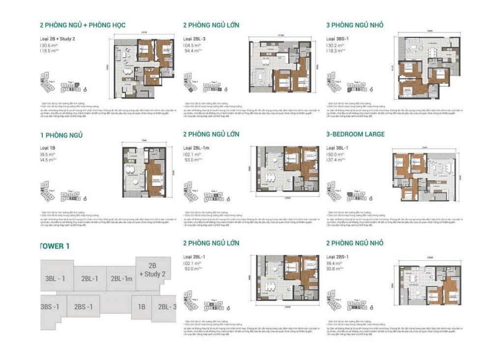 Thiết kế căn hộ Estella Heights Quận 2