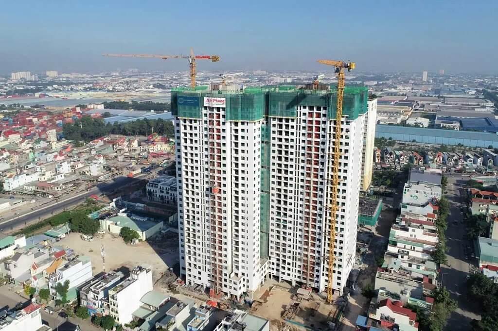Tiến độ xây dựng Charm City