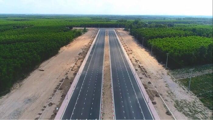 Tiến độ đoạn mới thông xe đường 25C Nhơn Trạch