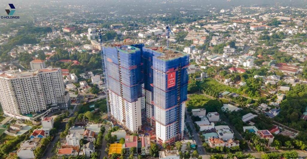 Tiến độ xây dựng căn hộ C Skyview