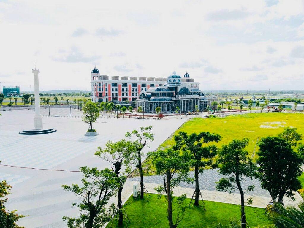 Tiến độ xây dựng Aquacity mới nhất tháng 8/2021