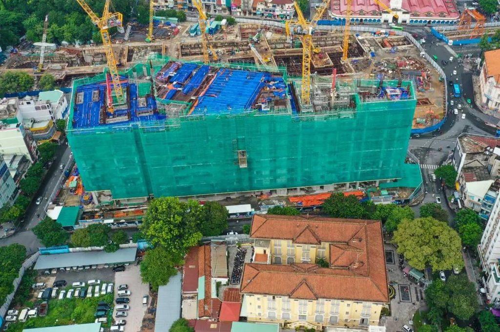 Tiến độ xây dựng dự án One Central Saigon