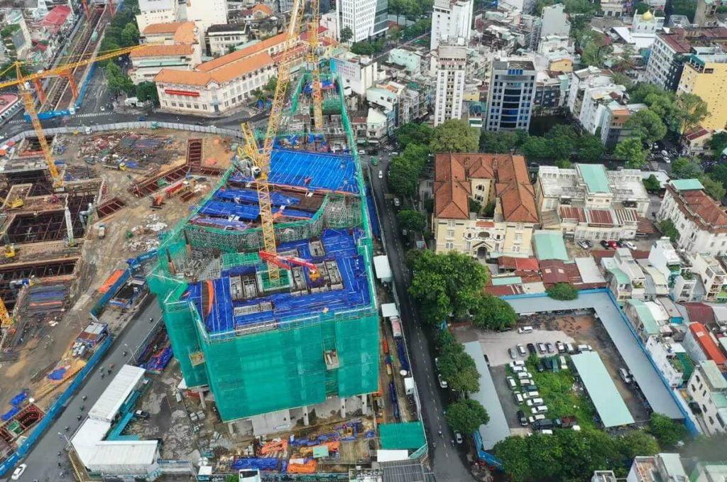 Tiến độ xây dựng dự án One Central Quận 1