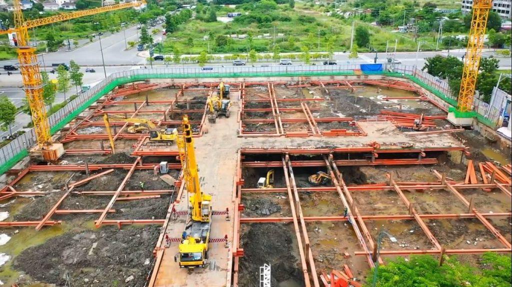 Tiến độ xây dựng dự án Zeit Xi Thủ Thiêm