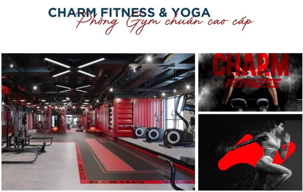 Charm Fitness & Yoga tại Diamond Charm