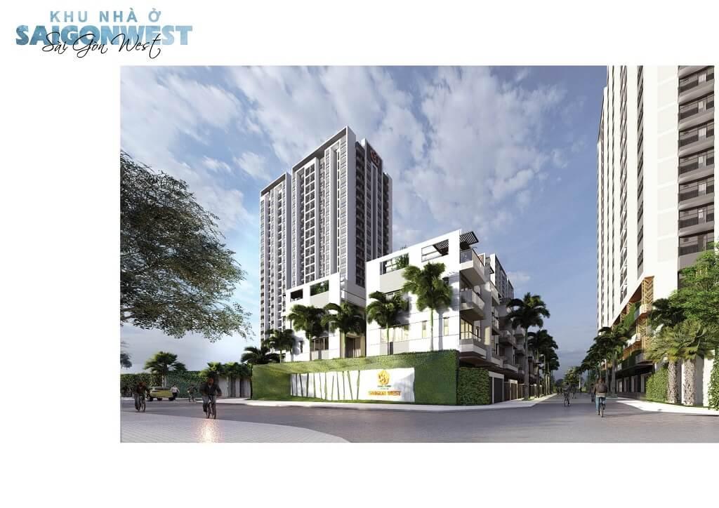 Dự án Saigon West ngay Aeon Mall Bình Tân của Hưng Thịnh