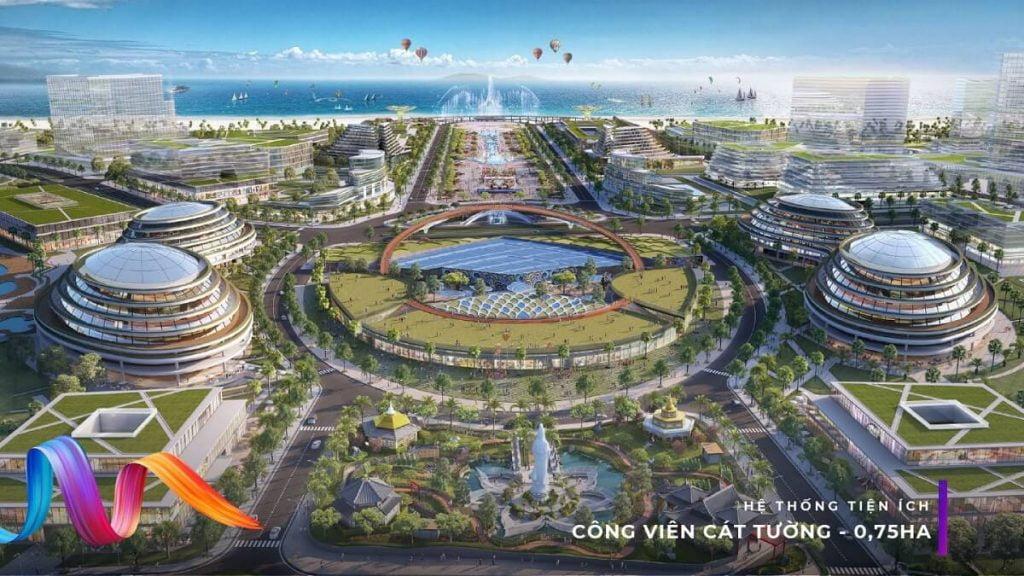 Khu đô thị phức hợp giải trí, du lịch KN Paradise Cam Ranh