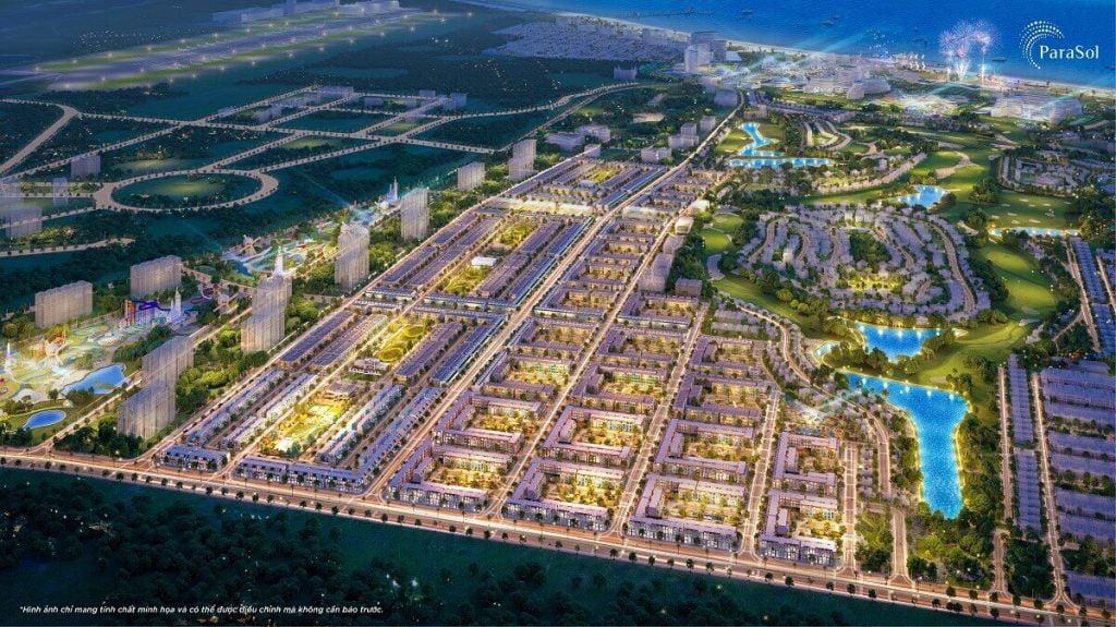 Phân khu dự án Para Sol Cam Ranh