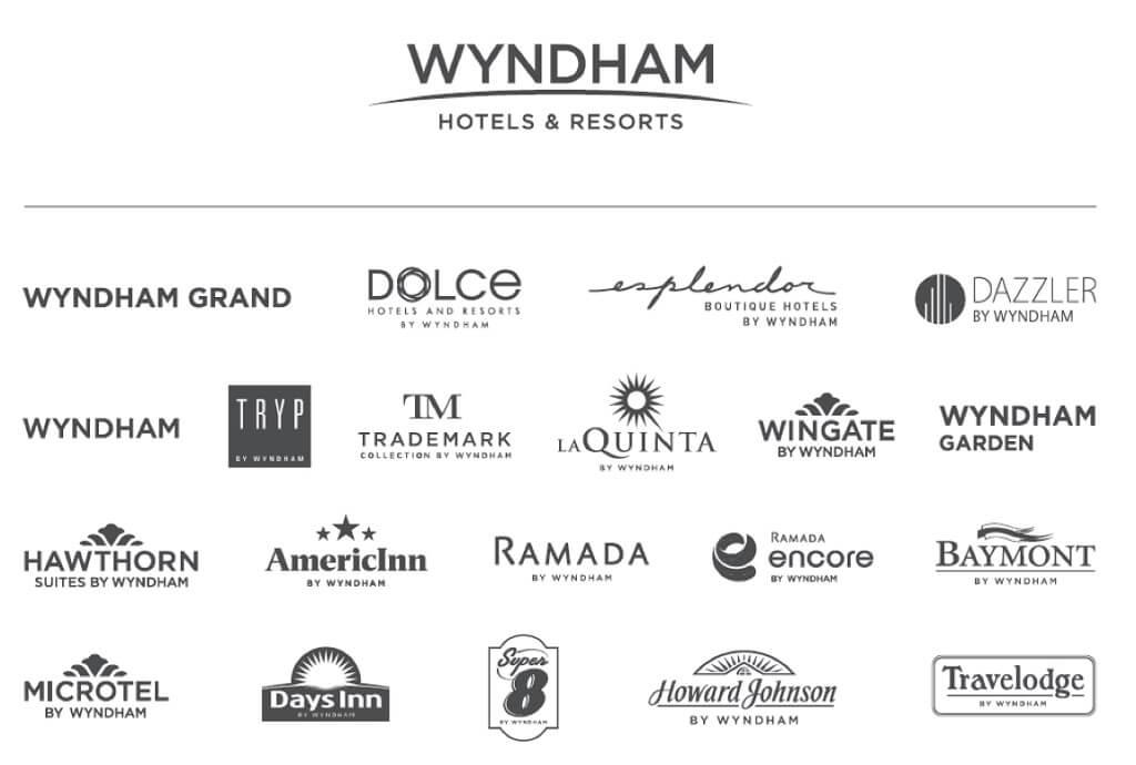 Các thương hiệu của Wyndham Hotels & Resort
