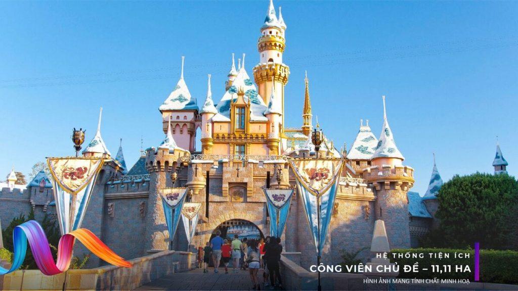 Công viên chủ đề phong cách Disneyland