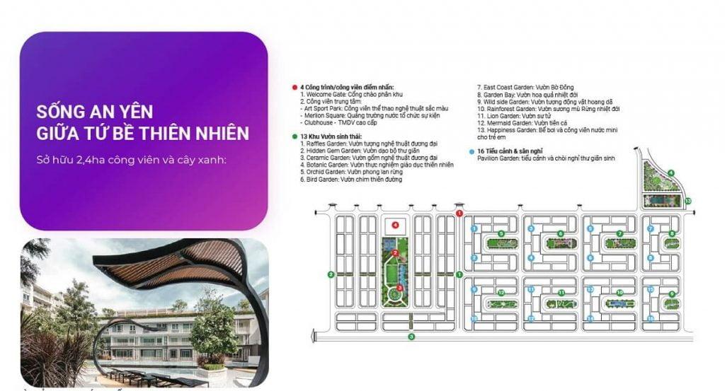 Tiện ích nội khu phân kỳ Sun Park