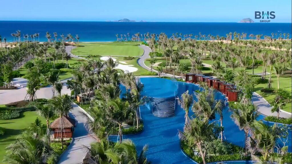 Tiện ích KN Beach Club tại Paradise Cam Ranh