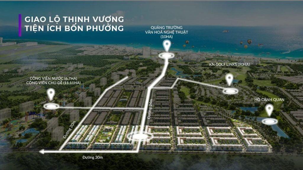Vị trí dự án Para Sol Cam Ranh