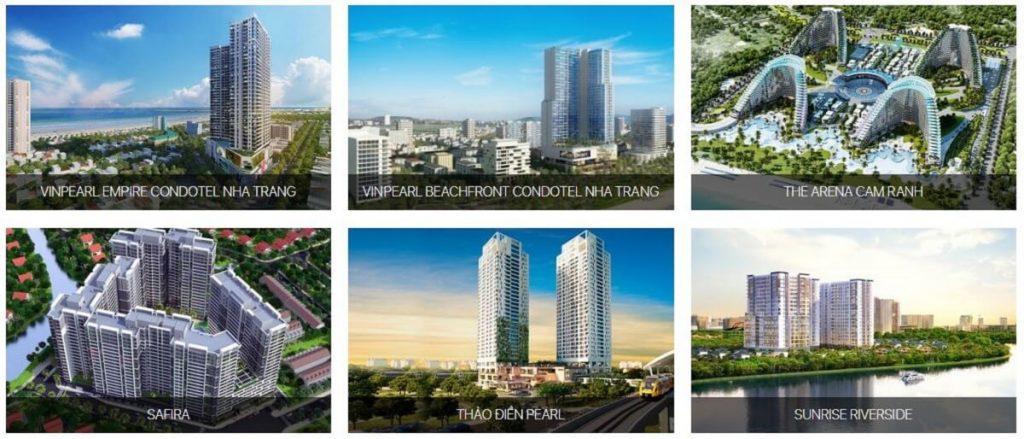 Một số dự án mà An Phong đã và đang xây dựng