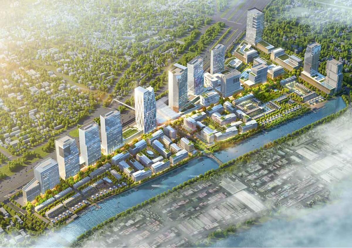 Phối cảnh dự án Saigon Quays Thủ Đức